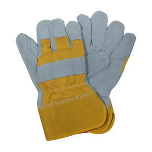 cow leather work gloves HLC850