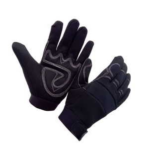 Mechanics Gloves with Gel Palm Padding HLS830