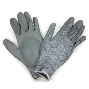 PU coated cut resistant gloves HCR101