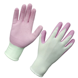 Foam latex coated gardening gloves HNL262
