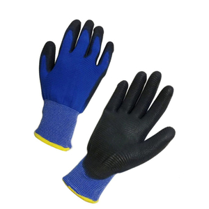 U3 knitted PU gloves HPU133