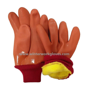 Insulated PVC glove cold proof HPV932