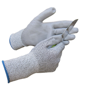 PU coated cut resistant gloves HCR102