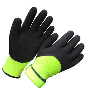 Winter Latex wrinkle Glove Cold Proof HKL673